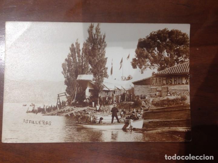 Postales: FOTO POSTAL ASTILLEROS CARLOS HOLZ - ENTRE LOS AÑOS: 1910_1920s - Foto 2 - 156656178