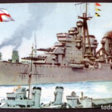 Postales: TARJETA POSTAL / MARINA DE GUERRA - INGLATERRA (ACORAZADO KING GEORGE V). Lote 158605414