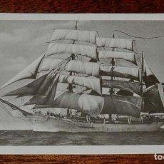 Postales: POSTAL DEL BUQUE ESCUELA GALATEA, MUSEO NAVAL DE MADRID, NO CIRCULADA.. Lote 158937630