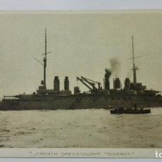 Postales: POSTAL FRENCH DREADNOUGHT - DIDEROT, AÑOS 20. Lote 159755238