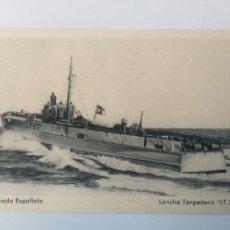 Postkarten - ANTIGUA POSTAL DE LA ARMADA ESPAÑOLA - LANCHA TORPEDERA LT 23 - PROPAGANDA MARITIMA - EDICIONES FRAG - 159896294