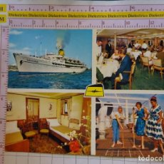 Postales: POSTAL DE BARCOS NAVIERAS. BUQUE BARCO T/SS AGAMEMNON. 681. Lote 162593118