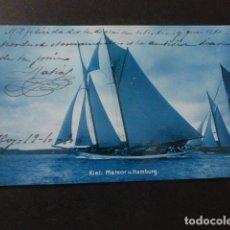 Postales: VELERO POSTAL 1906. Lote 164616742