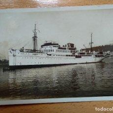 Postales: MOTONAVE CIUDAD DE BARCELONA. (FOT. CASA TRUYOL). Lote 164958546