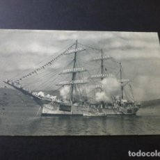 Postales: BUQUE ESCUELA GALATEA POSTAL ED. FOTO GLEZ DE AGUILAR ARCHIVO E. M. DE LA ARMADA. Lote 165149554