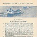 Postales: BOTE SALVAVIDAS.- PROPAGANDA PATRIOTICA. Lote 167687672