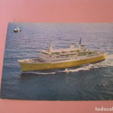 Postales: POSTAL DE BARCO CAR-FERRY IBN BATOUTA. MALAGA - TANGER. LIMADET - FERRY. . Lote 169132416