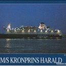 Postales: M/S KRONSPRINS HARALD (KIEL/OSLO) - COLOR LINE 8050 - ESCRITA. Lote 169195440