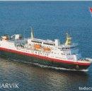Postales: M/S NARVIK, NORWAY, HURTIGBÄT (BERGEN/KIRKENES) - ESCRITA. Lote 169196064