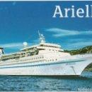 Postales: DIE ARIELLE, TRANSOCEAN TOURS - ESCRITA. Lote 169196248