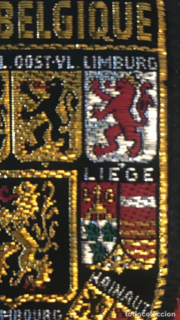 Postales: parche escudos de armas leon belga Belgique Belgie BELGIUM Belgian Lion Crest Coat of Arms Patch - Foto 3 - 169246384