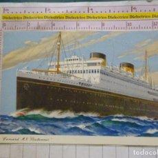 Postales: POSTAL DE BARCOS NAVIERAS. CUNARD MV BRTINANNIC. 1659. Lote 169767724