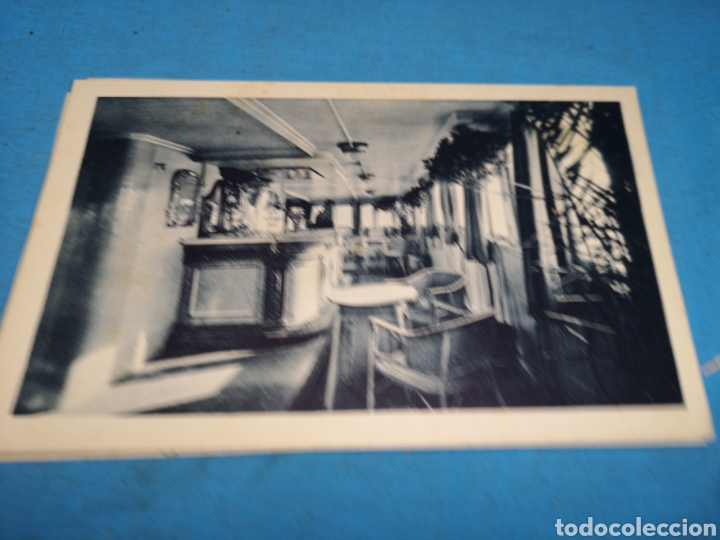 Postales: 12 fotografías-tarjeta postal, 1931, barco motónave Barcelona, y barco Vapor teide, comp. Transmedit - Foto 4 - 170305896