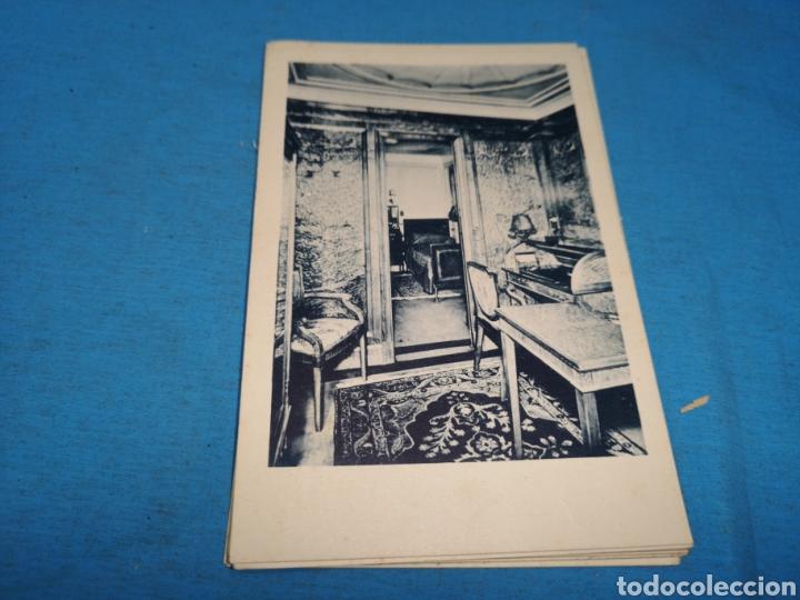 Postales: 12 fotografías-tarjeta postal, 1931, barco motónave Barcelona, y barco Vapor teide, comp. Transmedit - Foto 3 - 170305896