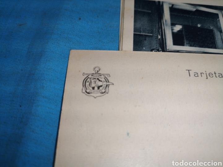 Postales: 12 fotografías-tarjeta postal, 1931, barco motónave Barcelona, y barco Vapor teide, comp. Transmedit - Foto 6 - 170305896