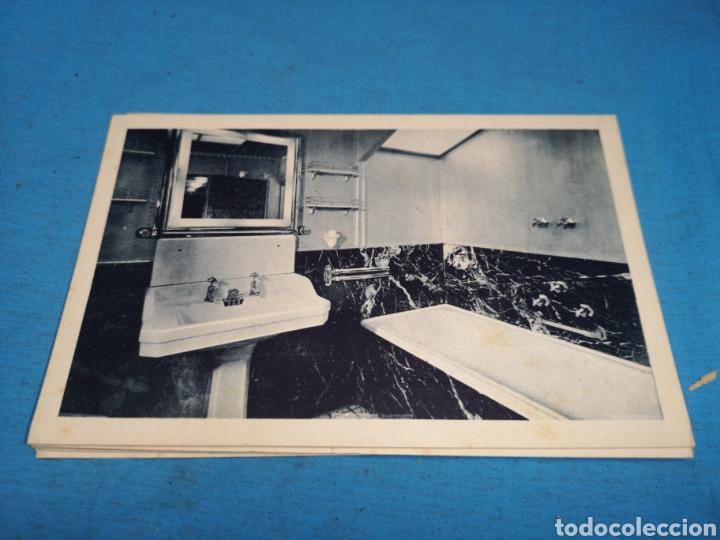 Postales: 12 fotografías-tarjeta postal, 1931, barco motónave Barcelona, y barco Vapor teide, comp. Transmedit - Foto 7 - 170305896