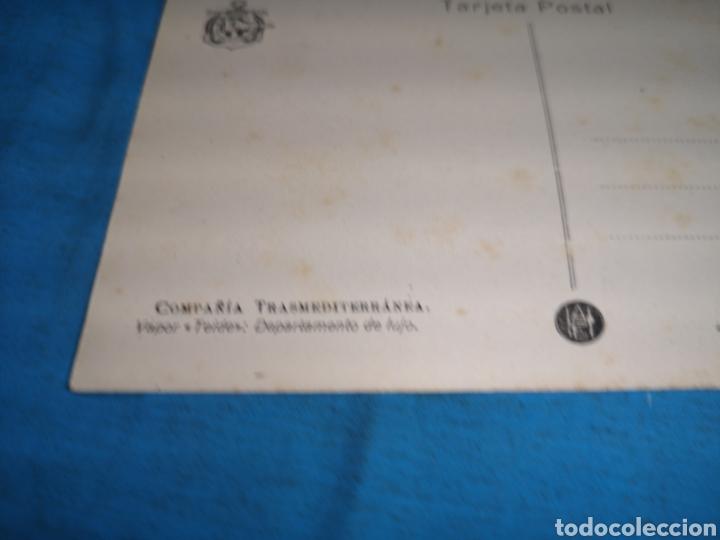 Postales: 12 fotografías-tarjeta postal, 1931, barco motónave Barcelona, y barco Vapor teide, comp. Transmedit - Foto 14 - 170305896