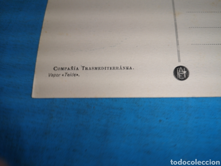Postales: 12 fotografías-tarjeta postal, 1931, barco motónave Barcelona, y barco Vapor teide, comp. Transmedit - Foto 25 - 170305896