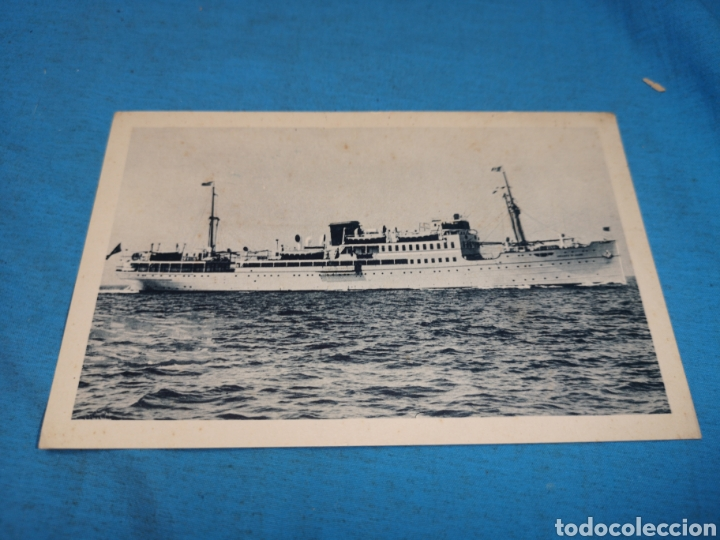 Postales: 12 fotografías-tarjeta postal, 1931, barco motónave Barcelona, y barco Vapor teide, comp. Transmedit - Foto 26 - 170305896