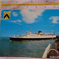 Postales: POSTAL DE BARCOS NAVIERAS. BARCO BUQUE DE MAALBOOT OOSTENDE OSTENDE BÉLGICA. 2380. Lote 170429576