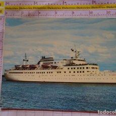 Postales: POSTAL DE BARCOS NAVIERAS. BARCO BUQUE FERRY MS ILMATAR, ALEMANIA. 2386. Lote 170429832