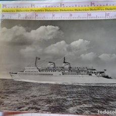 Postales: POSTAL DE BARCOS NAVIERAS. BARCO BUQUE MS SASSNITZ. ALEMANIA. 2394. Lote 170430348