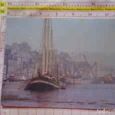 Postales: POSTAL DE BARCOS NAVIERAS. BARCO BUQUE EN PUERTO CAMARET, FRANCIA. 2416. Lote 170431540