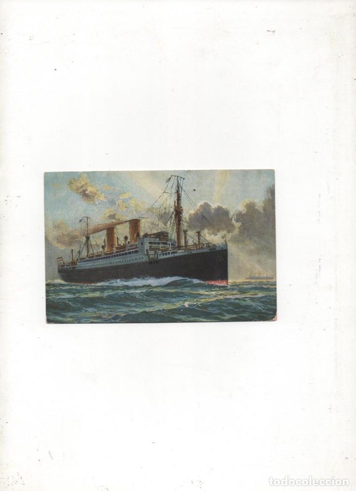 POSTAL ANTIGUA NORDEUTSCHER LLOYD BREMEN -STUTTGART -SIN CIRCULAR- (Postales - Postales Temáticas - Barcos)
