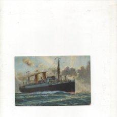 Postales: POSTAL ANTIGUA NORDEUTSCHER LLOYD BREMEN -STUTTGART -SIN CIRCULAR-. Lote 172823737