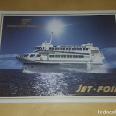 Postales: POSTAL / TRASMEDITERRANEA / JET-FOIL PRINCESA DACIL. Lote 172955988