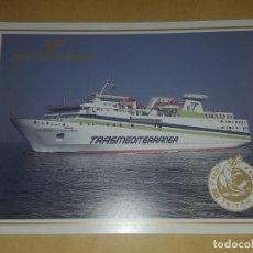 Postales: POSTAL / TRASMEDITERRANEA / FERRYS SERIE TRITON / LAS PALMAS DE GRAN CANARIA. Lote 172956170