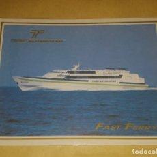 Postales: POSTAL / TRASMEDITERRANEA / FAST FERRY. Lote 172956267