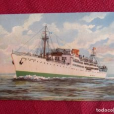 Postales: POSTAL M/N CONDE DE ARGELEJO. Lote 173499960