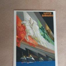Postales: POSTAL LLOYD SABAUDO. LOS GLORIOSOS CONDES. Lote 174077319