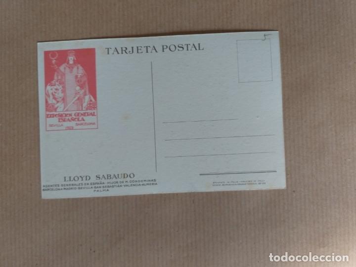 Postales: POSTAL LLOYD SABAUDO. LOS GLORIOSOS CONDES - Foto 2 - 174077319
