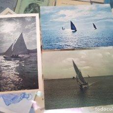 Postales: ANTIGUAS POSTALES BARCOS DE VELA . Lote 174127013