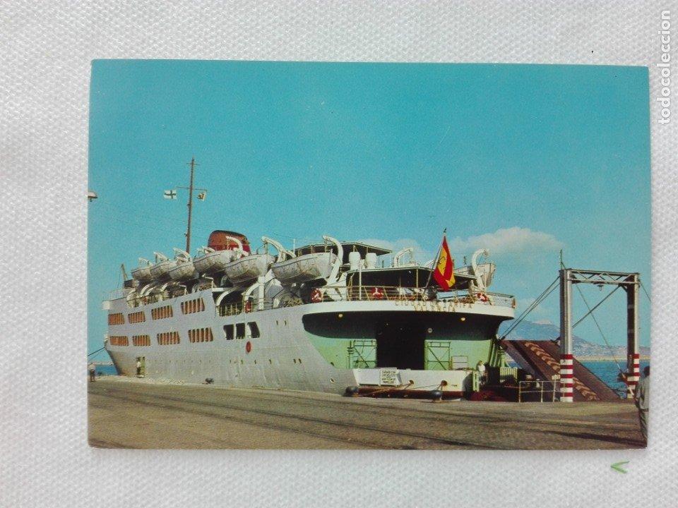 POSTAL NUEVA - VISTABELLA 4 - ALGECIRAS CADIZ - TRANSBORDADOR CIUDAD DE TARIFA (Postales - Postales Temáticas - Barcos)