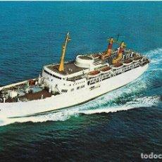 Postales: == Z1509 - POSTAL - COMPAÑIA TRANSMEDITERRANEA - JUAN MARCH. Lote 174406634
