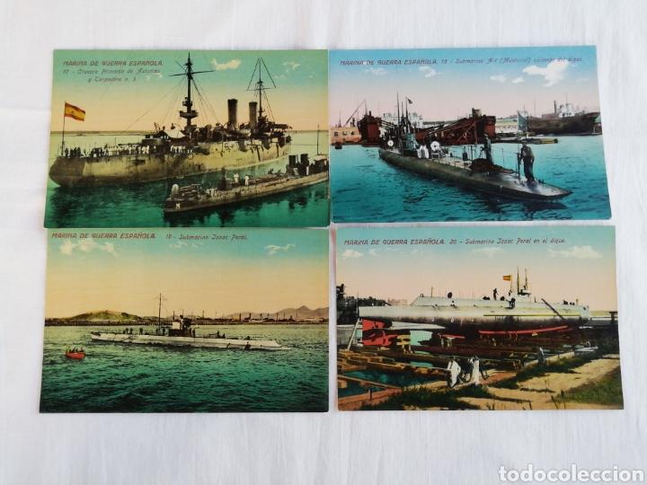 Postales: Colección de 20 postales Marina de guerra Española - Foto 5 - 175707803