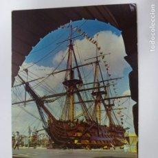 Postales: POSTAL. H.M.S. VICTORY. CIRCULADA. BARCO BUQUE. . Lote 178110075