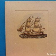 Postales: EL MUSEO MARÍTIMO DE LA EXCEMA BARCELONA, LE DESEA FELICES PASCUAS Y PROSPERO AÑO NUEVO . Lote 178675131