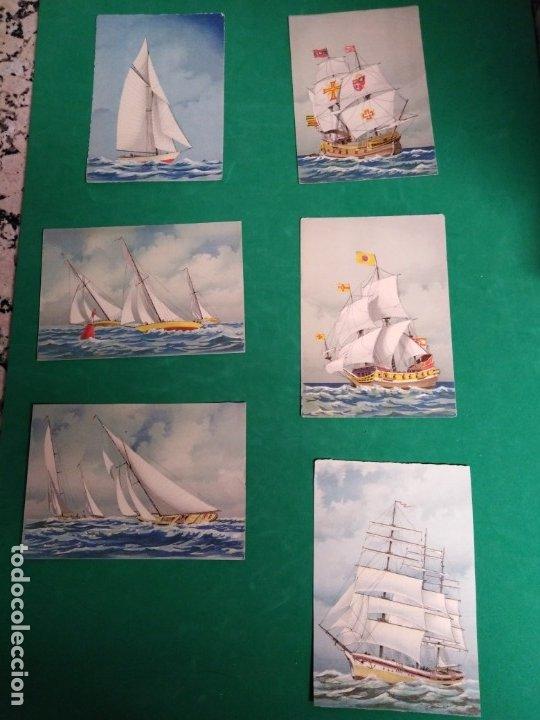 POSTALES ANTIGUAS BARCOS (Postales - Postales Temáticas - Barcos)