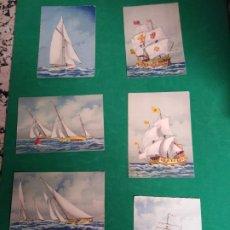 Postales: POSTALES ANTIGUAS BARCOS . Lote 178993772