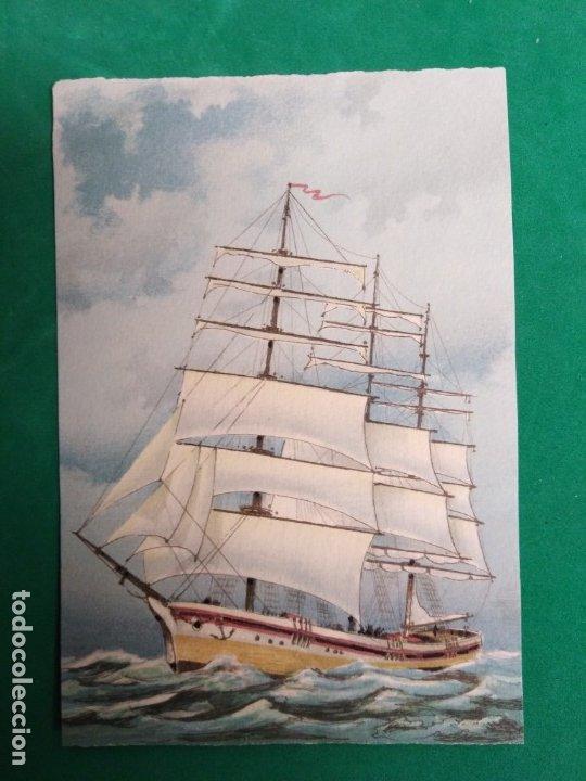 Postales: Postales antiguas Barcos - Foto 4 - 178993772