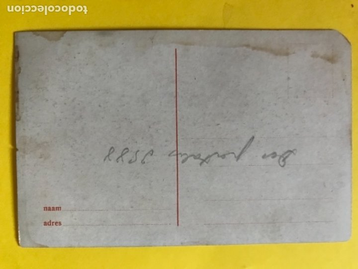 Postales: Antigua postal holanda holland dibujo molino catedral rio barco postal azul paises bajos - Foto 4 - 179006441