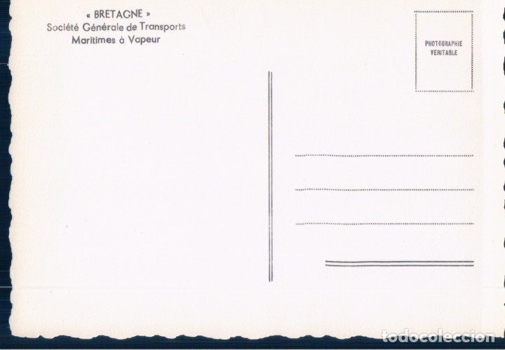 Postales: postal barco ca labourdonnais - Foto 2 - 179075835