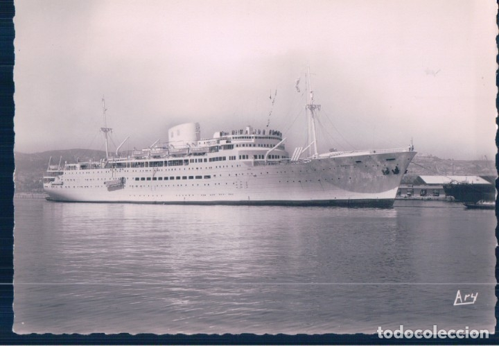 POSTAL BARCO - LA MARSEILLASE - A.TARDY (Postales - Postales Temáticas - Barcos)