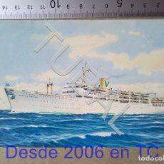Postales: TUBAL CRUCERO CASTEL FELICE SOUTHAMPTON AUSTRALIA 1964 ENVIO 70 CENT 2019 T1. Lote 179251500