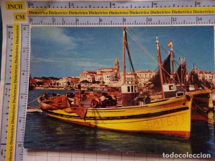 POSTAL DE BARCOS NAVIERAS. BARCO BUQUE PESCA. PALAMÓS, GERONA. 449 (Postales - Postales Temáticas - Barcos)
