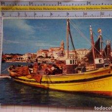 Postales: POSTAL DE BARCOS NAVIERAS. BARCO BUQUE PESCA. PALAMÓS, GERONA. 449. Lote 180038995